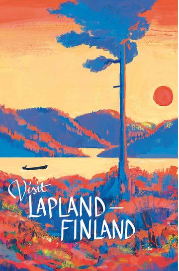 Visit Lapland by Väinö Heinonen