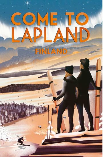 Come to Lapland by Omar Escalante