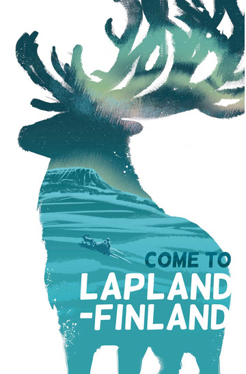 Lapland Reindeer by Jenni Hänninen