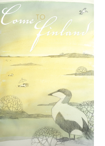 Come to Finland by Lena Frölander-Ulf