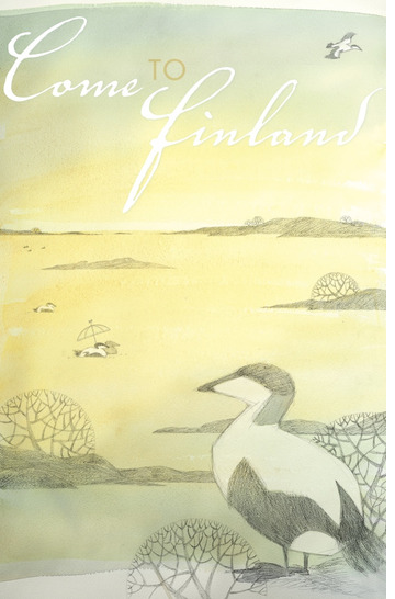 Come to Finland by Lena Frölander-Ulf