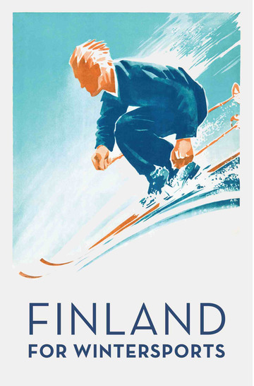 Finland for wintersports by Danning