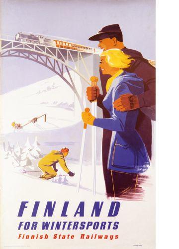 Järnvägsbron – Finland for wintersports