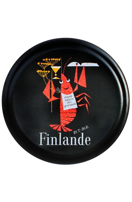 The Crayfish Season by Erik Bruun, Tray 35 cm