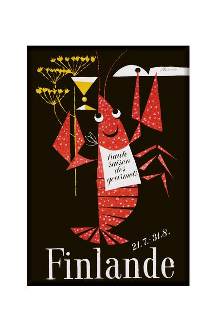 The Crayfish Season by Erik Bruun, Magnets