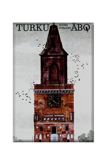 Turku-Åbo by Erik Bruun, Magnets