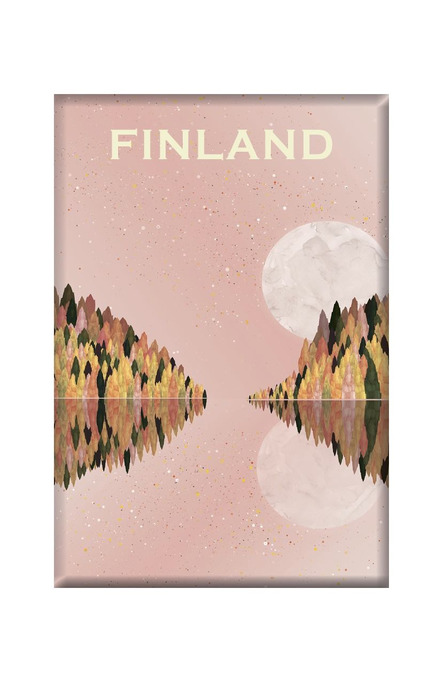 Finland – a place to reflect by Beth Chesser, Magnets