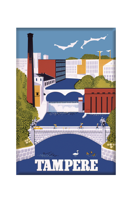 Tampere by Christianson, Magnets