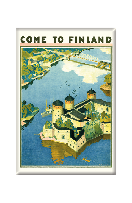 Come to Finland – Olavinlinna, Magnets