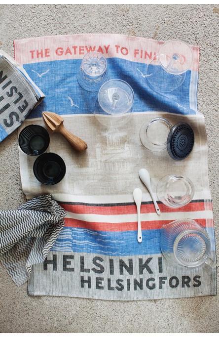 Kitchen towel, Gateway to Helsinki