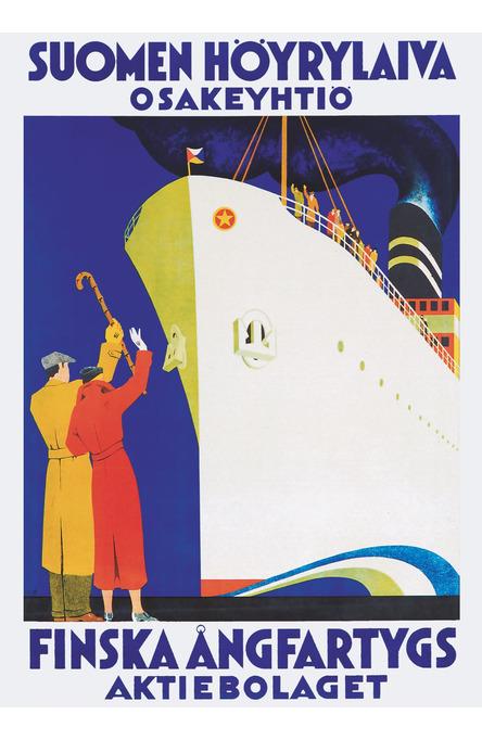 Happy travels! Poster 50 x 70 cm (on demand print)