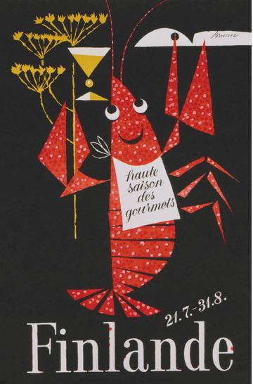 The Crayfish Season by Erik Bruun