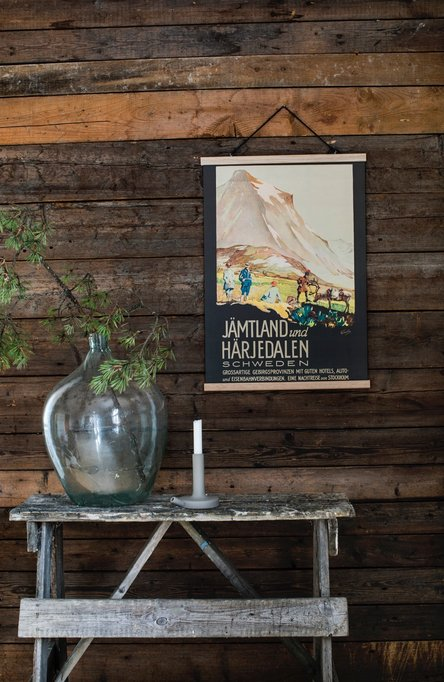 Jämtland und Härjedalen, Affisch 50 x 70cm