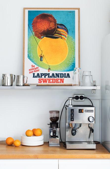 Lapplandia lift, Poster 50 x 70 cm