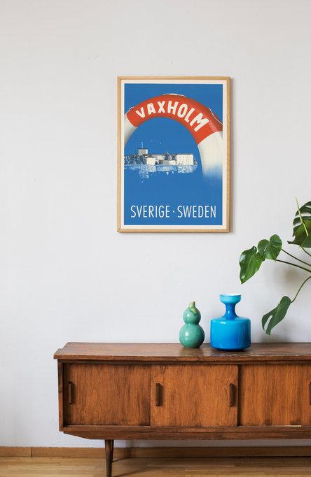 Vaxholm, Poster 50 x 70 cm