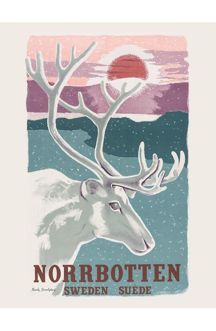 Norrbotten, Affisch 30 x 40 cm
