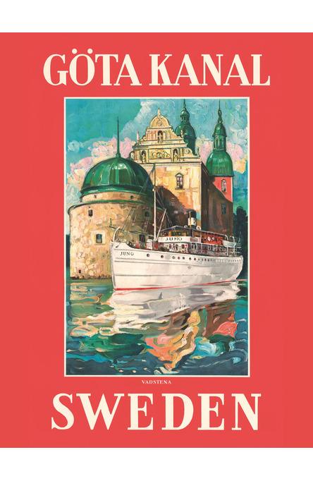 Göta Kanal Vadstena, Affisch 30 x 40 cm
