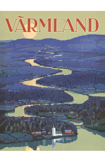 Värmland, Poster 30 x 40 cm