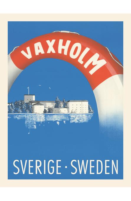 Vaxholm, Affisch 30 x 40 cm