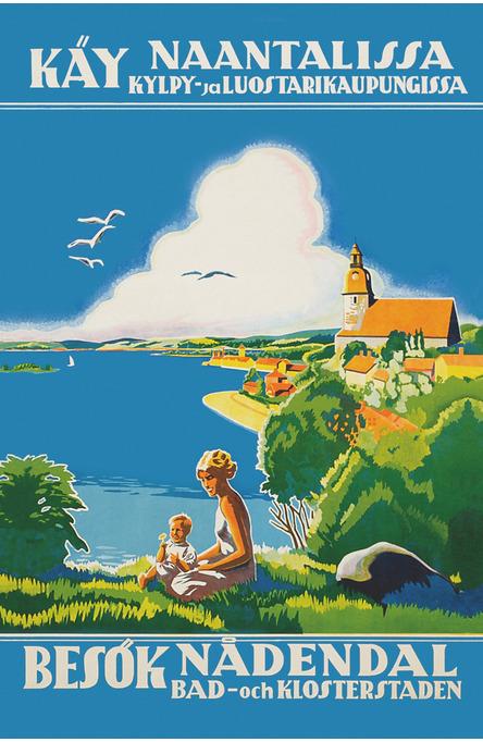 Käy Naantalissa, Postcard