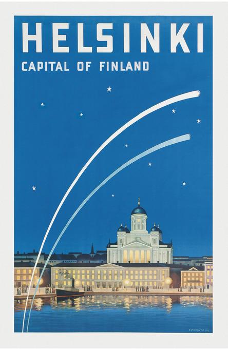 Helsinki – Capital of Finland, Postcard