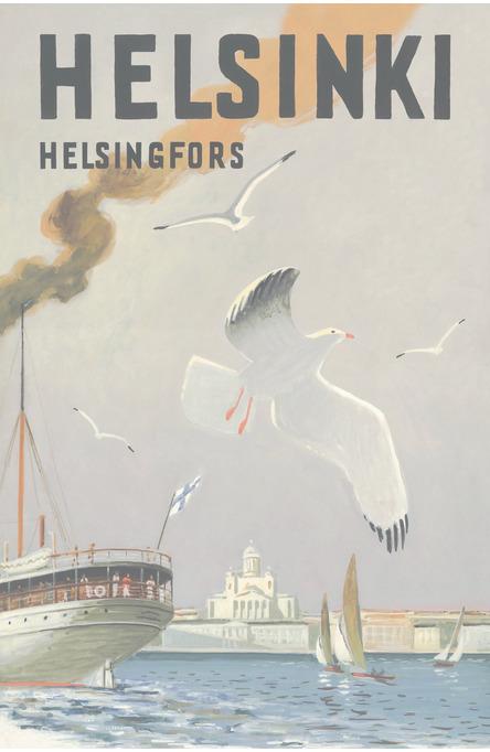 Helsinki-Sea Gull, Postcard