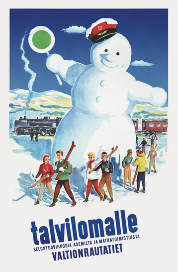 The Snowman in Finnish