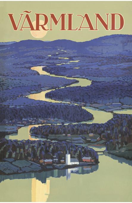 Värmland, Postcard