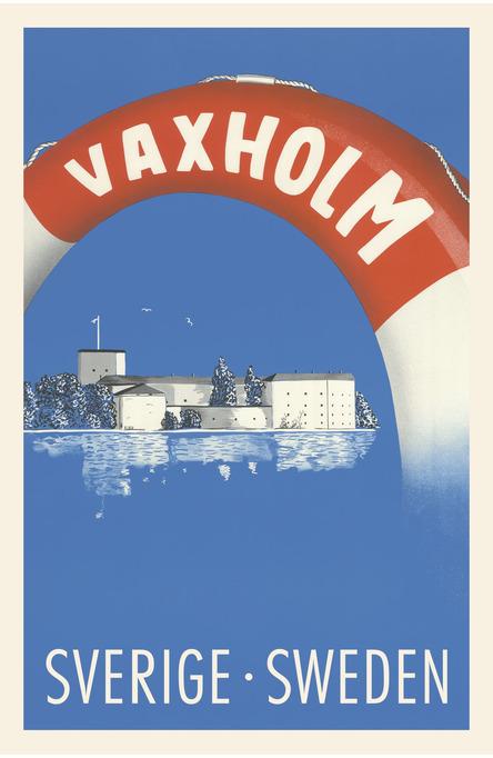 Vaxholm, Vykort