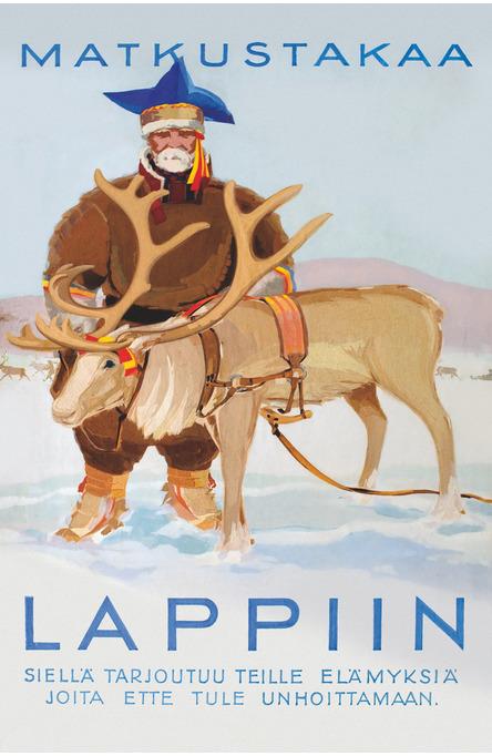 Matkustakaa Lappiin, Postcard