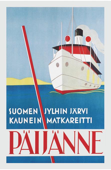 Päijänne – Suomen jylhin järvi, Postcard