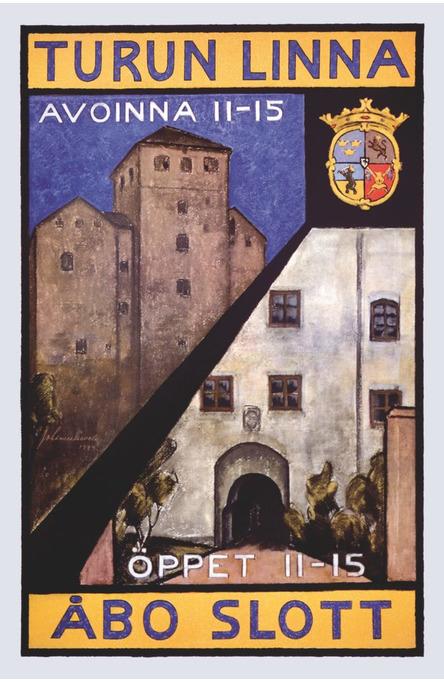 Turku Castle, Postcard
