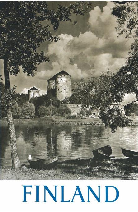Olavinlinna by Pietinen, Postcard