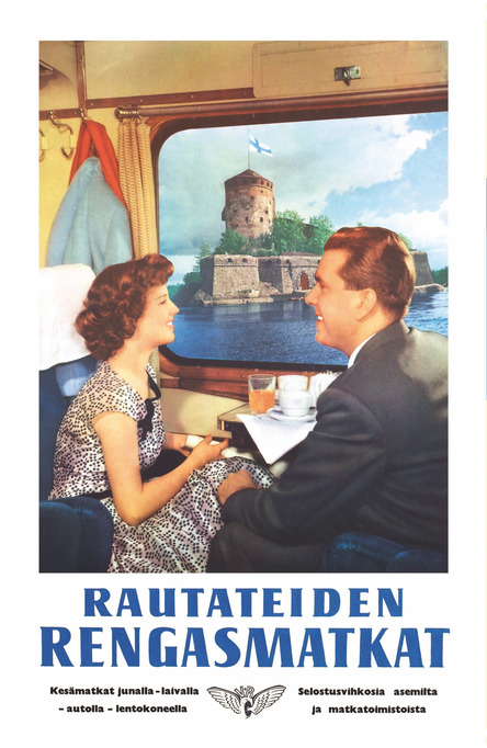 Rengasmatkat – Olavinlinna, Postcard