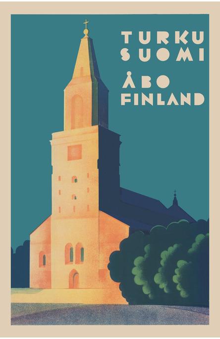 Turku Cathedral, Postcard