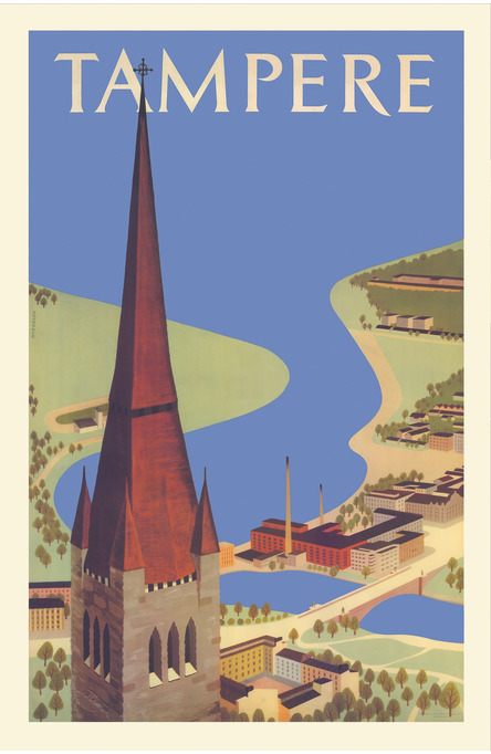 Tampere by Mykkänen, Postcard