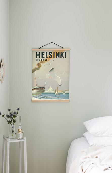 Helsinki-Sea Gull, Poster 50 x 70 cm (on demand print)