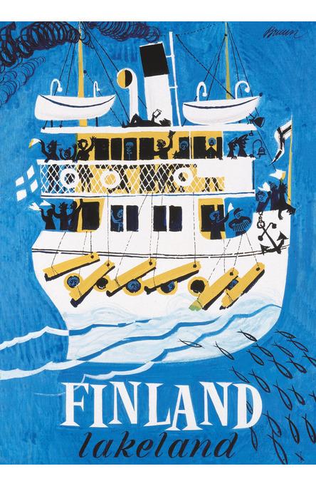 Lakeland by Erik Bruun, Poster 50 x 70 cm (offset print)