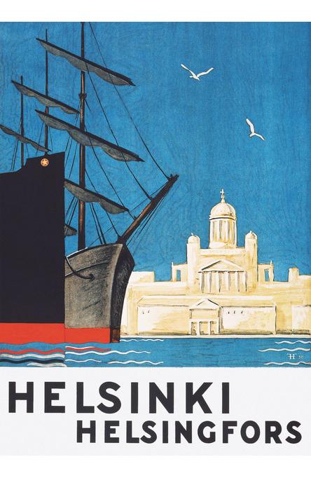 Hki-Hfors gateway, Poster 50 x 70 cm (on demand print)