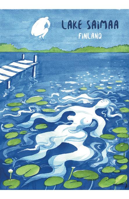 Pommi by Annika Mannström, Poster 50×70