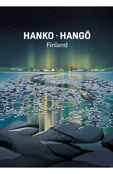 Explore the facets of Hanko by Anna Saveleva Poster 50×70