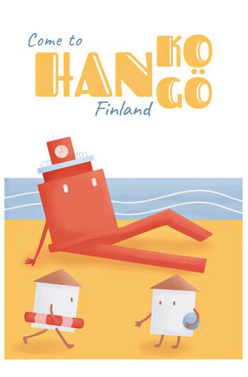 Beach Hanko-Hangö by Karoliina Parkko