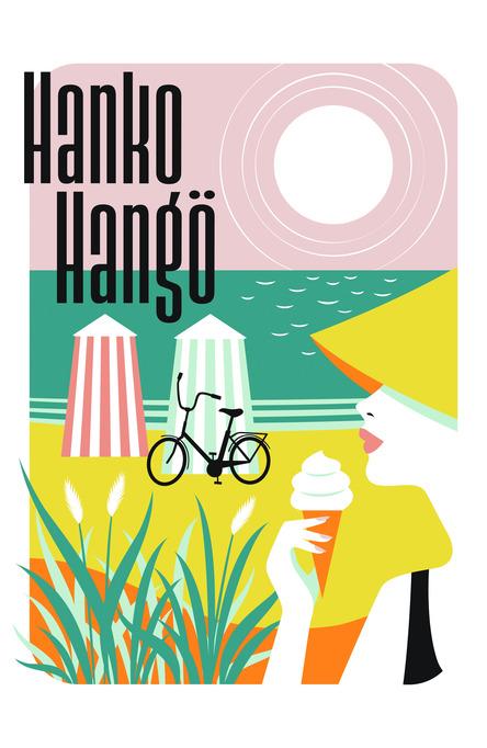 Hanko – The Riviera of Finland by Fanny Törnqvist, vykort