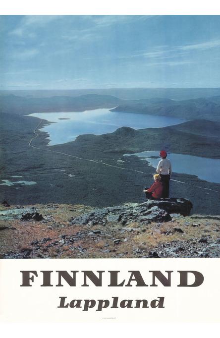 Lapland-Kilpisjärvi, Poster 50 x 70 cm (on demand print)