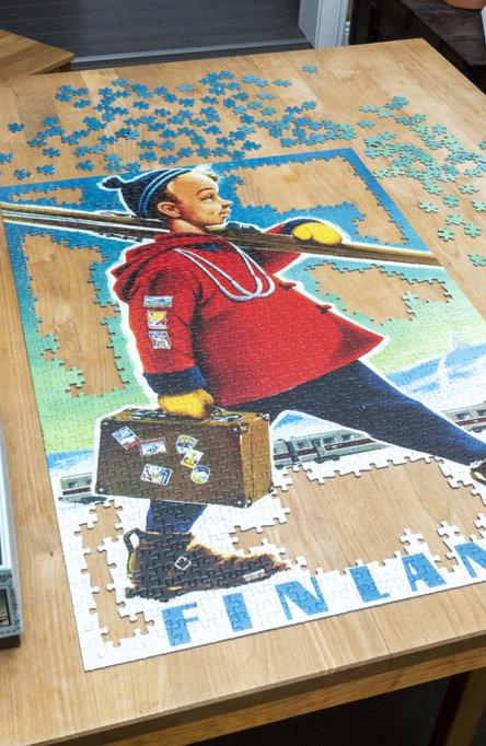Puzzle Ski-boy