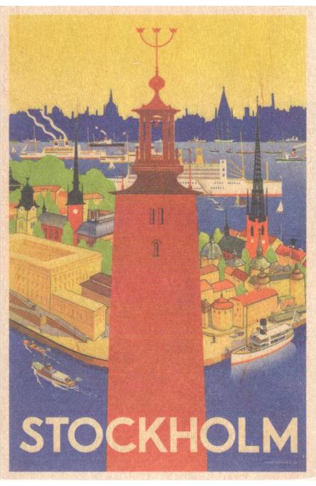 Donnér: Stadshuset i Stockholm, Träkort