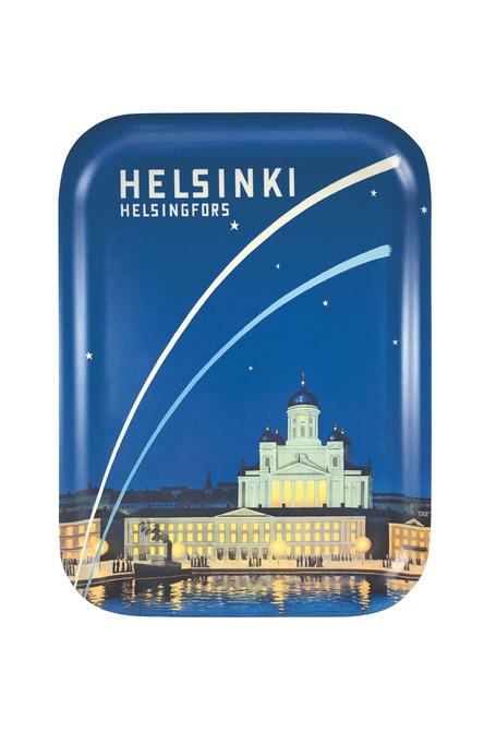Helsinki – Capital of Finland, Tray 20 x 27 cm