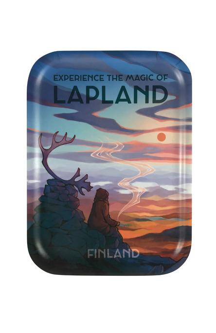 Emma Chudoba: Magic of Lapland, Tray 20 x 27 cm