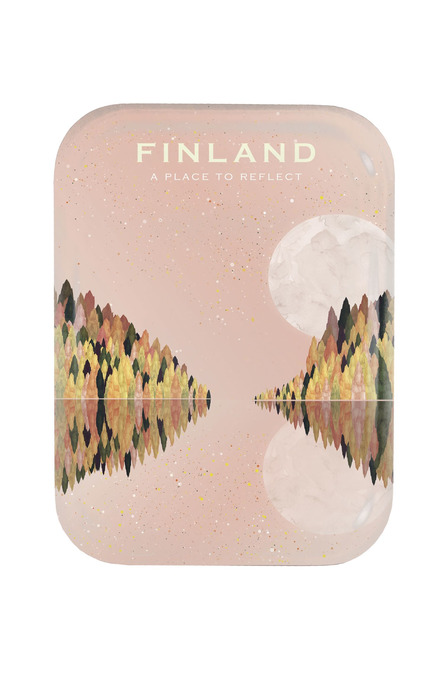 Lake Saimaa by Beth Chesser, Tray 20 x 27 cm
