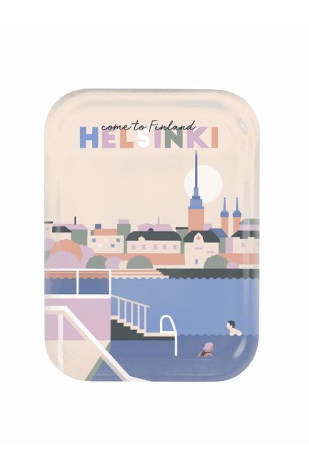 Come to Helsinki by Jolanda Kerttuli, Tray 20 x 27 cm